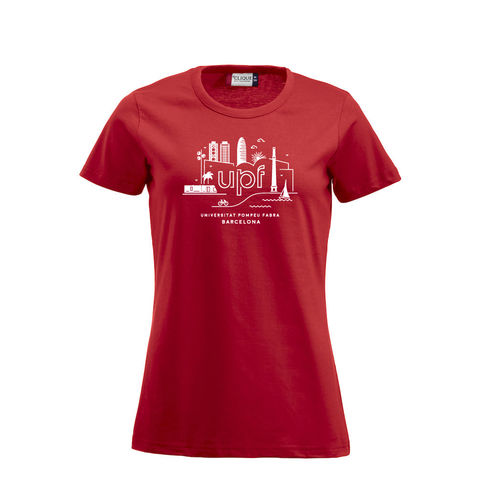 [Promo] Women's red T-shirt 2016