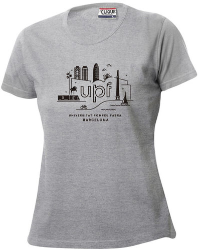 [Promo] Women's grey T-shirt 2016